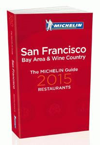 La guía MICHELIN San Francisco Bay Area & Wine Country 2015
