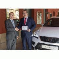 El SEAT Ateca, premiado por los lectores del Diario de Navarra