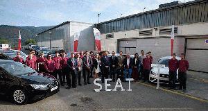 SEAT entrega 10 vehículos al Gobierno Vasco para centros de FP