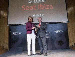 El SEAT Ibiza, 'Premio ABC Mejor Coche del Año 2018