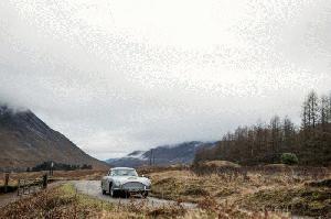 Habrá 25 unidades del Aston Martin DB5 igualitas a la de James Bond