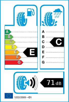 "Medidas neumaticos de 14"" de invierno 1-E-C-71-2"