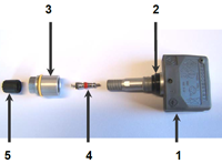 RDKS Ventil mit Sensor