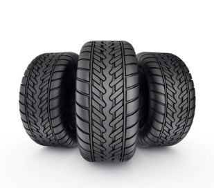 Drei Reifen
