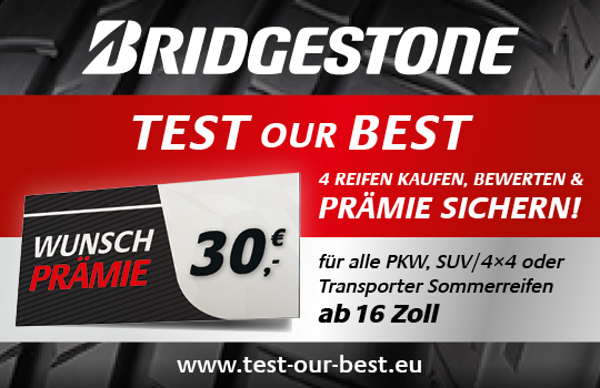 Bridgestone Test our Best