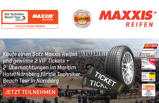 Maxxis Beachvolleyball