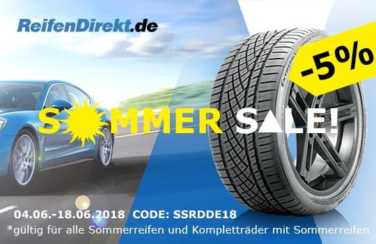 5% Sommer Sale