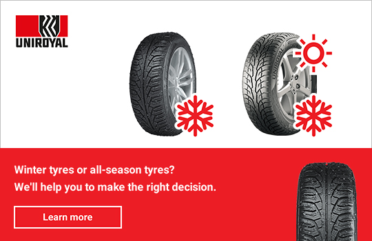 Winter Tyres vs All-Season Tyres