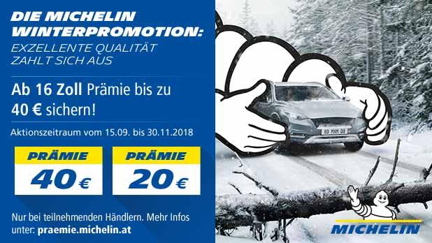 Die MICHELIN Winterpromotion 2018: Exzellente Qualität zahlt sich aus