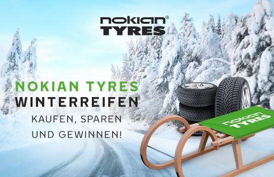 Nokian Winterreifen - Kaufen, sparen und gewinnen!
