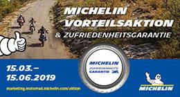 Michelin Zufriedenheitsgarantie Vorteilsaktion