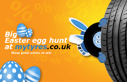 Go on an egg hunt and win great prizes!