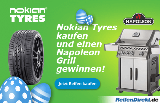 Nokian Tyres Ostern