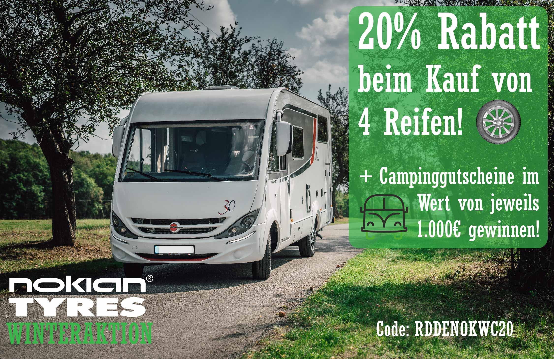 Nokian Camping Aktion