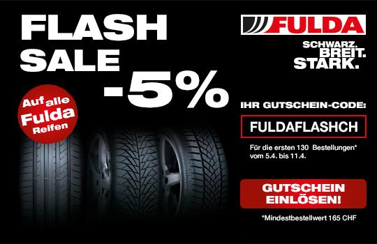 5% Fulda Flash Sale