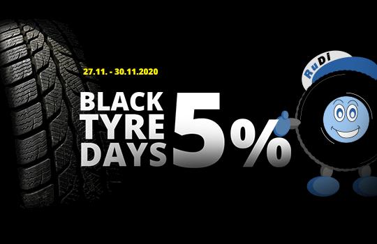 Black Tyre Days - 5 % Rabatt