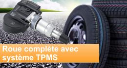 Roue complète avec TPMS