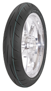 Cheapest price of Avon 3D Ultra Sport AV79 12070 ZR17 TL 58W Front wheel in new is £75.20