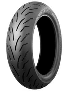 Bridgestone Battlax SC R 130/70-12 RF TL 62P Rodas traseiras, M/C