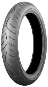 Bridgestone T 30 F ( 120/70 ZR17 TL (58W) M/C, Sonderkennung J, Első kerék )