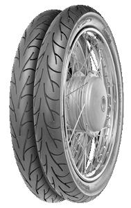 Continental ContiGo! 2 1/2-16 TT 42J Rear wheel, M/C, Front wheel