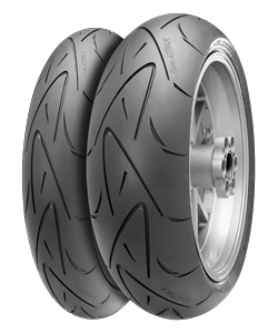 Continental ContiSportAttack 190/55 ZR17 TL (75W) Rear wheel, M/C