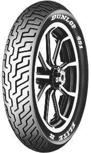Dunlop 491 Elite II ( 130/90B16 TL 67H etupyörä, M/C RWL )