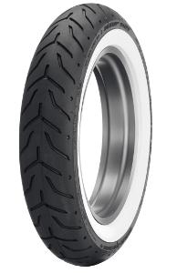 Dunlop D 408 F H/D WWW 130/90B16 TL 67H M/C, koło przednie WWW
