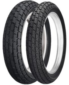 Dunlop DT 3 130/80-19 TT M/C, Mischung Moyen, NHS, Roue avant