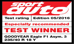 Its Efficientgrip Suv Scored A Victory In The Recent Adac Summer Tyre Test And Now Goodyear Has Racked Up Another Win With Eagle F1 Asymmetric 3