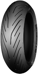 Pneu Michelin Pilot Power 3 Scooter Rear ( 160/60 R15 TL 67H roue arrière, M/C )