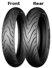 Michelin Michelin Pilot Street Front : 100/80 17 Tl/tt 52