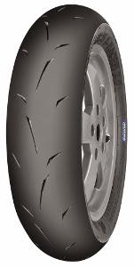 Mitas MC35 S-Racer 2.0 100/90-10 TL 56P roue arrière, Mischung Moyen, Roue avant