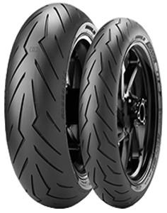 Pirelli Diablo Rosso III Rear ( 180/60 ZR17 TL (75W) M/C, zadní kolo )